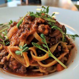 Tagliatelle Bolognese restaurant pipera