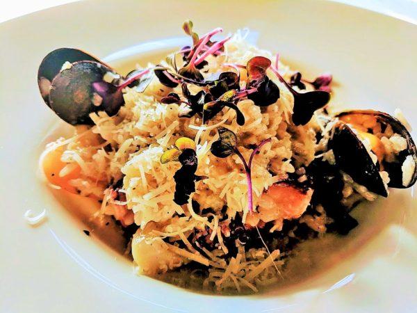 risotto fructe de mare restaurant pipera